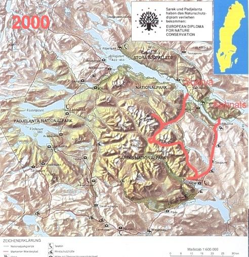Sarek-Tour 2000.