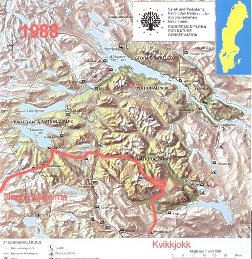 Sarek- und Padjelanta-Tour 1988