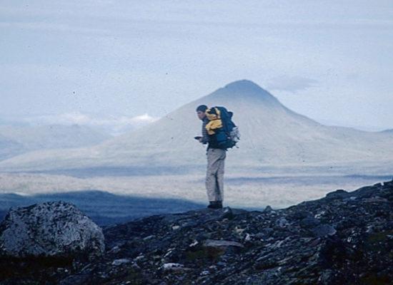 Total vernebelt – Bei Wind und Wetter durch den Sarek – 2000