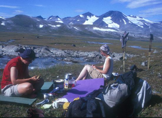 Sunshine Trekking – Von Ritsem über Skarja nach Suorva – 2002