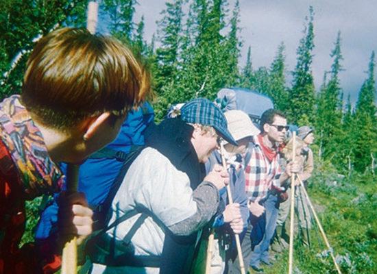 Am Rand entlang – Doppeltour südlich vom Sarek – 1995
