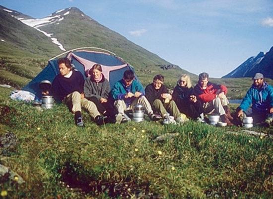 Sonnen-Tour – Kreuz und quer durch die Täler im Sarek – 1996