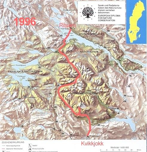 Sarek-Tour 1996