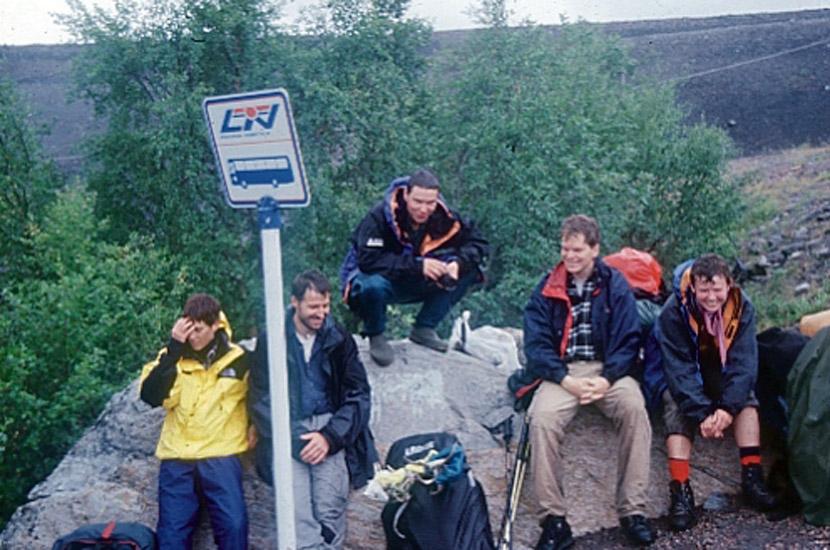 Sarek 2000. geschafft in Suorva. Aber so was von.
